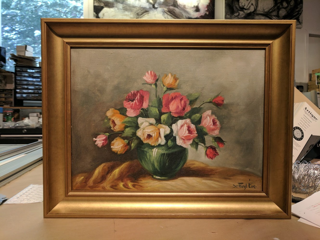 custom-framing-flowerstilllife