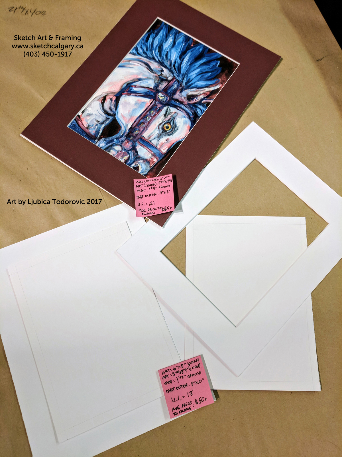 Planning artwork size for matting sketch art framing i will give two example price outcomes in this post one will be an already completed artwork which fits into a 9x12 mat and the other is a planned solutioingenieria Choice Image